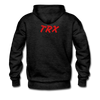 Tron Premium Hooded Sweater - charcoal gray