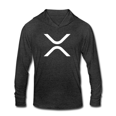 XRP Unisex Tri-Blend Hoodie Shirt - heather black