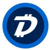 Digibyte Kiss Cut Stickers - Sticky Crypto