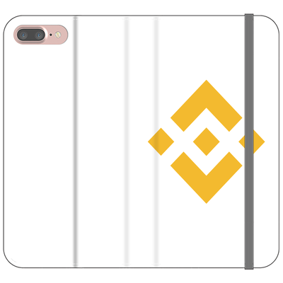 Binance Phone Folio Case - Sticky Crypto