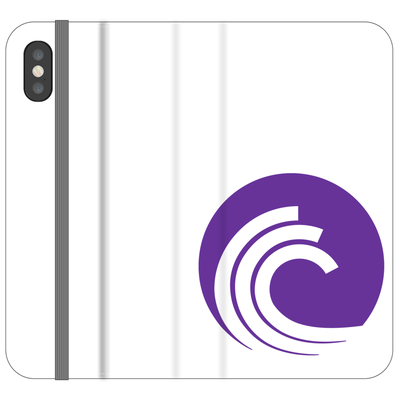 BitTorrent Phone Folio Case - Sticky Crypto