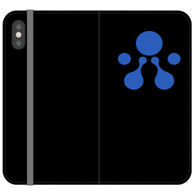 Aelf Folio Black Phone Case - Sticky Crypto