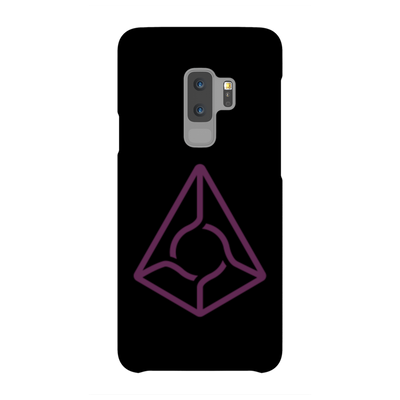 Augur Black Phone Case - Sticky Crypto