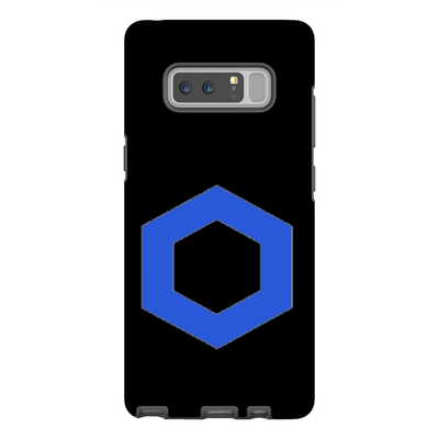 Chainlink Black Phone Case - Sticky Crypto