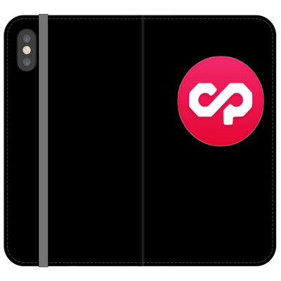 Counterparty Black Phone Case - Sticky Crypto