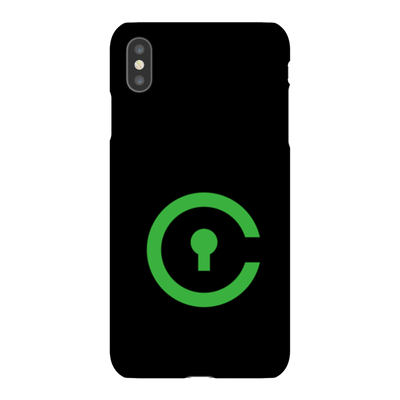 Civic Black Phone Case - Sticky Crypto