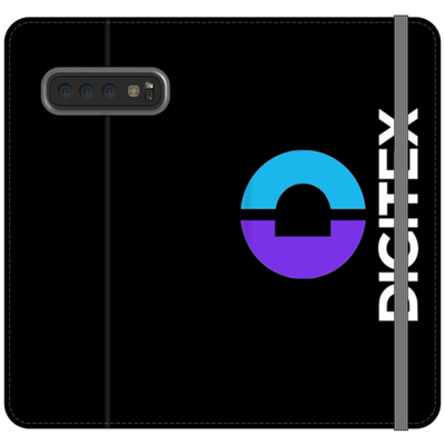 Digitex Black Phone Folio Case - Sticky Crypto