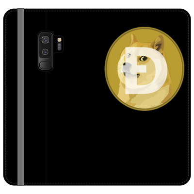 Dogecoin Black Phone Case - Sticky Crypto
