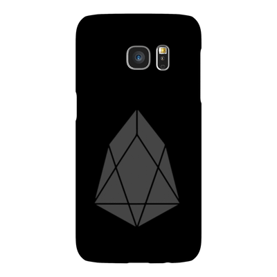 EOS Black Phone Case - Sticky Crypto