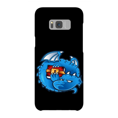 Dragonchain Black Phone Case - Sticky Crypto
