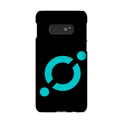 Icon Black Phone Case - Sticky Crypto