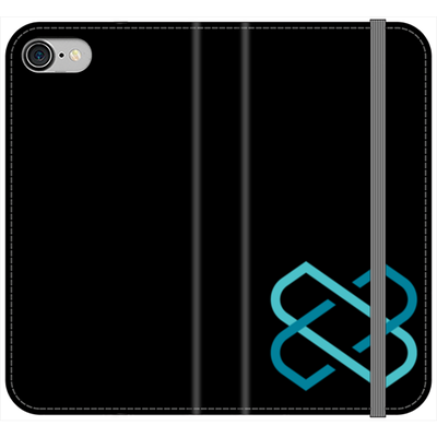 Loom Black Folio Phone Case