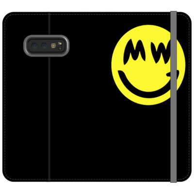 Grincoin Black Folio Phone Cases - Sticky Crypto