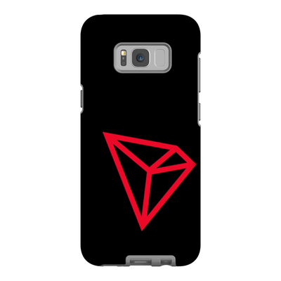 Tron Black Phone Case