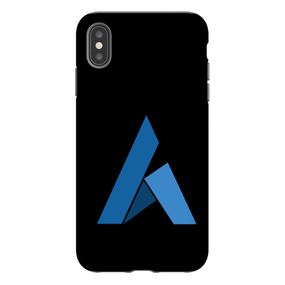 Ardor Black Phone Case - Sticky Crypto