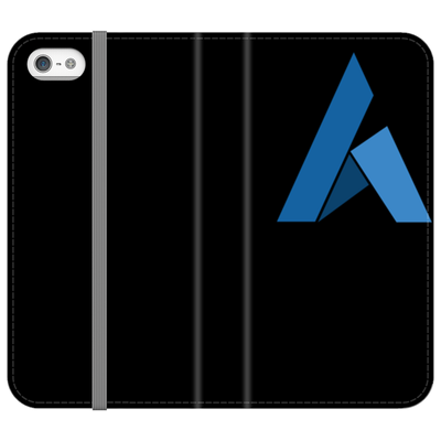 Ardor Black Folio Phone Case - Sticky Crypto