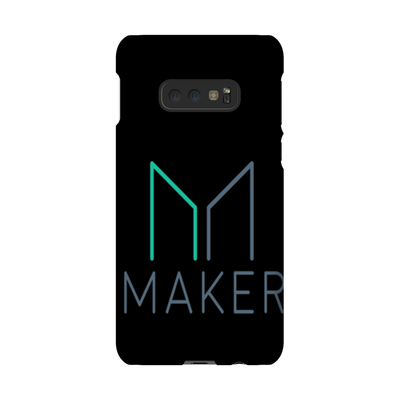 Maker Dao Black Phone Case
