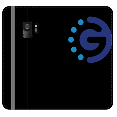 GoChainPhone Black Folio Case - Sticky Crypto