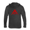 ARK Unisex Tri-Blend Hooded Shirt - heather black