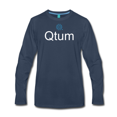 Qtum Premium Long Sleeve - navy