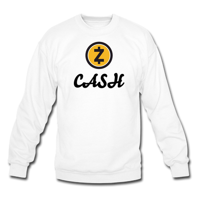 Zcash Crewneck Sweatshirt - white
