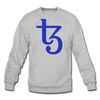 Tezos Crewneck Sweatshirt - heather gray