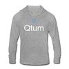 Qtum Unisex Tri-Blend Hooded Shirt - heather gray