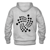 Men's Hoodie - heather gray