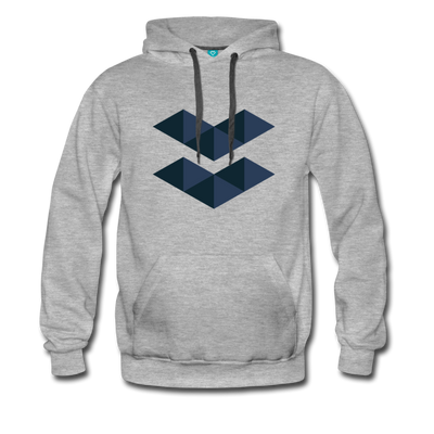 Elastos Premium Hoodie - heather gray