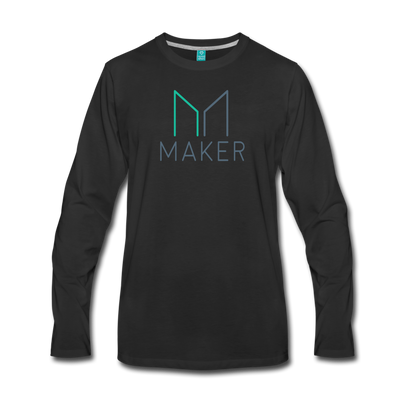 Maker Premium Long Sleeve T-Shirt - black