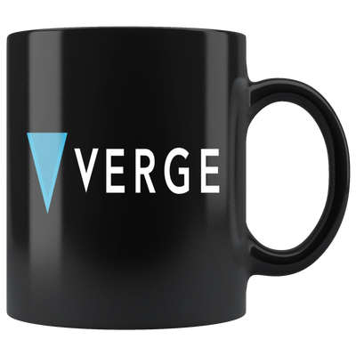 Verge Coffee Mug -- All Black