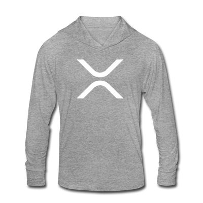 XRP Unisex Tri-Blend Hoodie Shirt - heather gray
