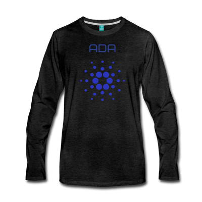 Cardano Premium Long Sleeve - charcoal gray