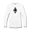 Ethereum Premium Long Sleeve - white