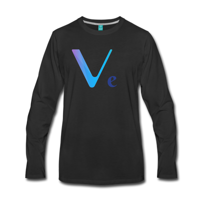 VeChain Premium Long Sleeve - black