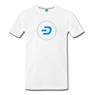 Dash Men's Premium T-Shirt - white