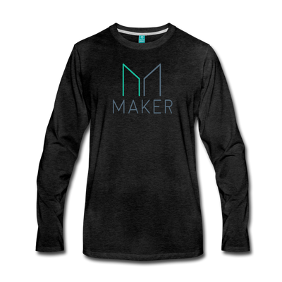 Maker Premium Long Sleeve T-Shirt - charcoal gray