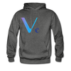 VeChain Men's Hooded Sweater - charcoal gray