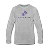QLC Chain Premium Long Sleeve T-Shirt - heather gray