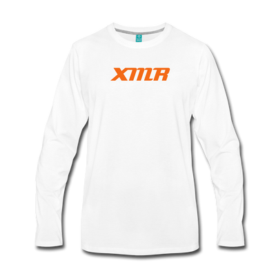 Monero Premium Long Sleeve - white
