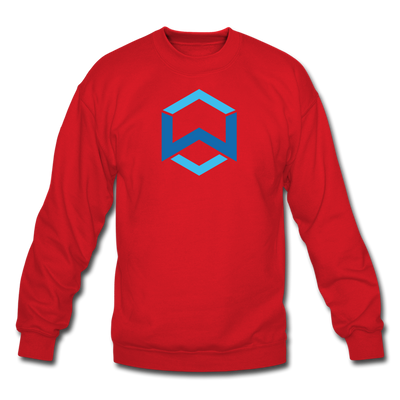 Wanchain Crewneck Sweatshirt - red