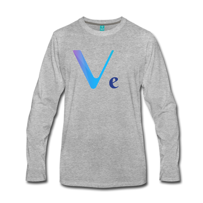 VeChain Premium Long Sleeve - heather gray