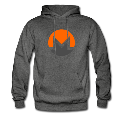Monero Premium Hooded Pull-Over - charcoal gray