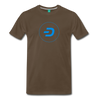 Dash Men's Premium T-Shirt - noble brown