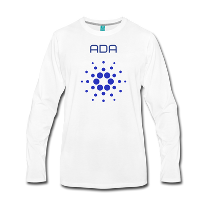 Cardano Premium Long Sleeve - white