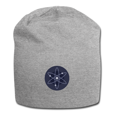 Cosmos Jersey Beanie - heather gray