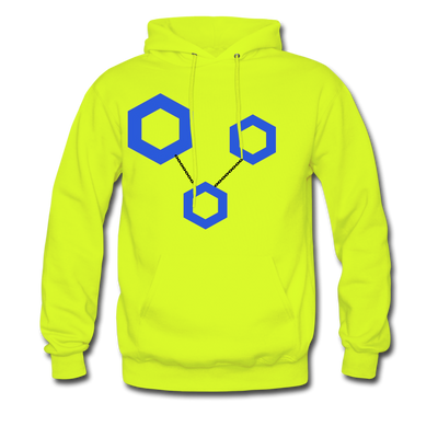 ChainLink Premium Hooded Pull-Over - safety green