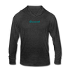 Quant Unisex Tri-Blend Hooded Shirt - heather black