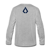 LISK Premium Long Sleeve - heather gray