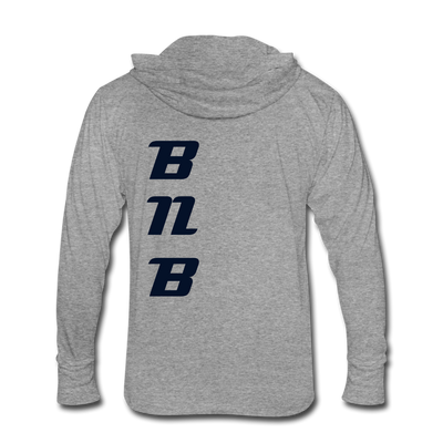 Binance Unisex Tri-Blend Hoodie Shirt - heather gray